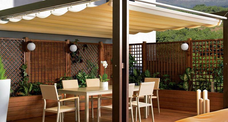 Toldos toldos y persianas en monterrey for Persianas para terrazas